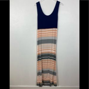 Market & Spruce open back maxi dress; stitch fix